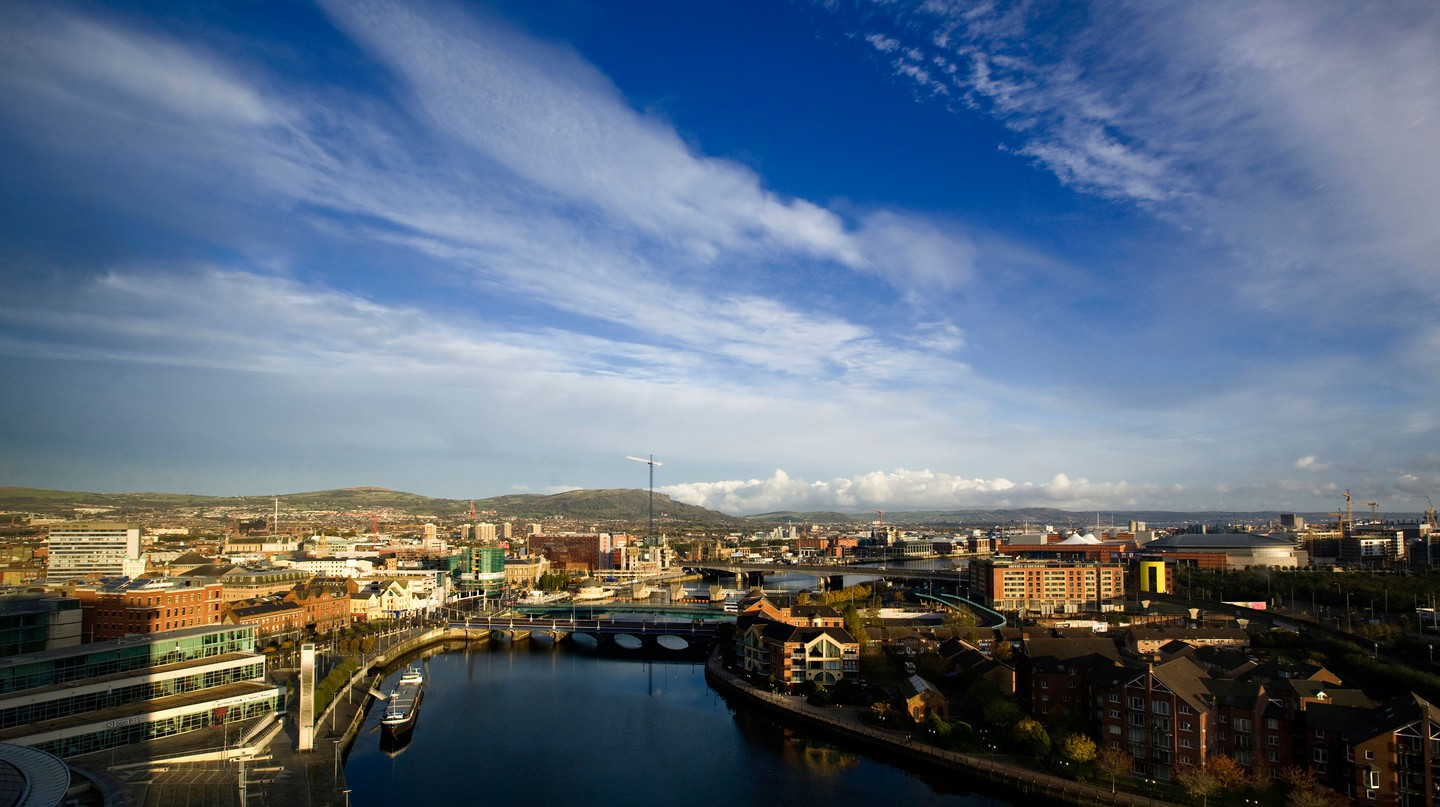 Belfast's culinary scene is evolving as fast as the city is