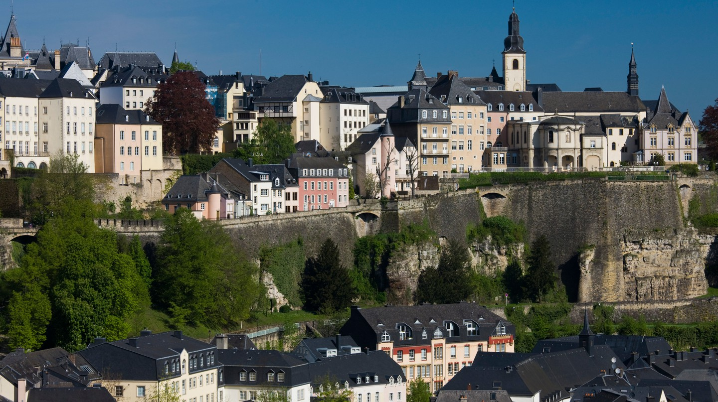 Explore the many and varied neighbourhoods of Luxembourg