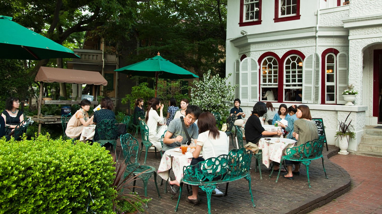 Brunch has become a staple of Yokohama's cosmopolitan dining scene |