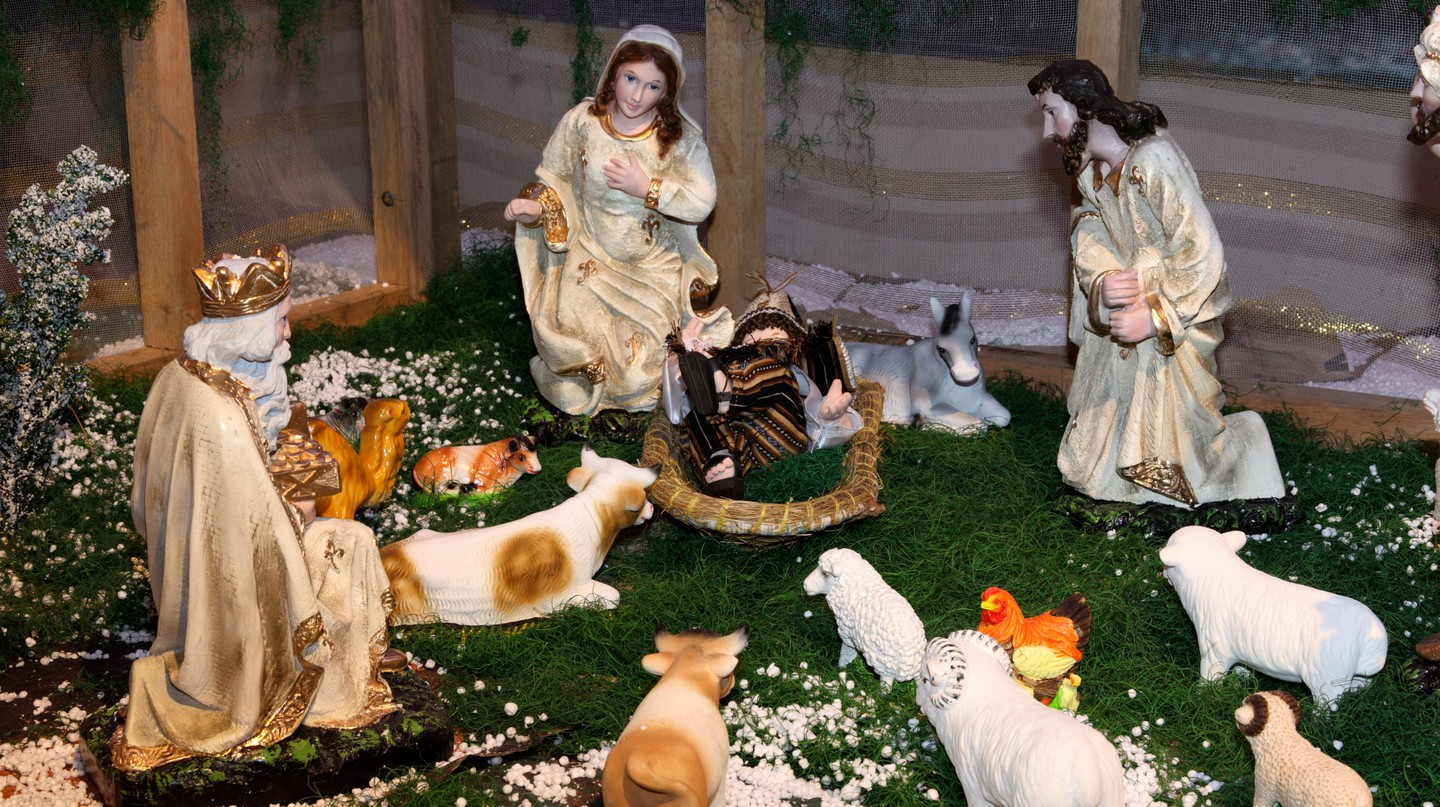 During the Christmas holiday, homes in Bolivia often feature a nacimiento (nativity scene)