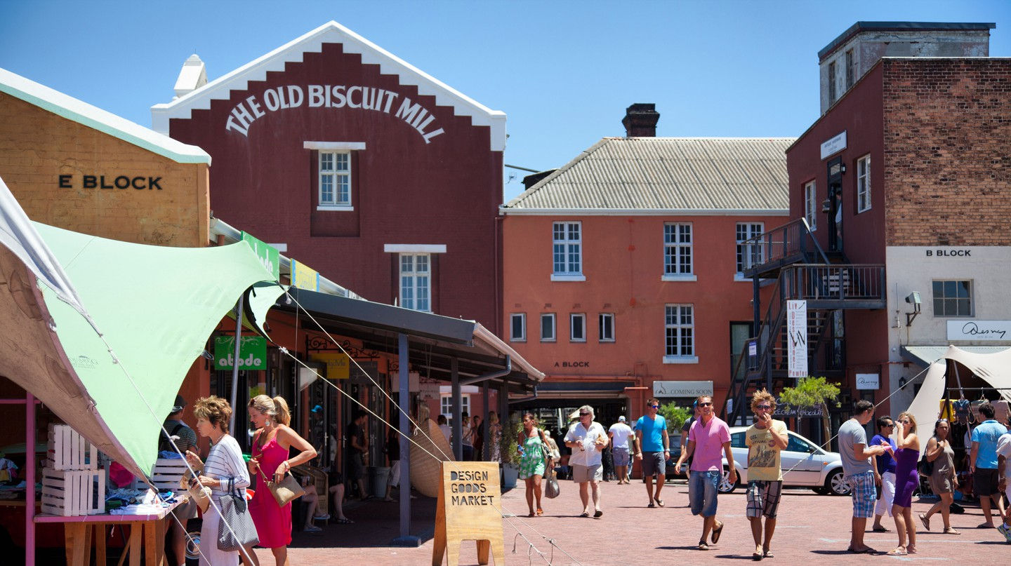 The Old Biscuit Mill in Woodstock is one of Cape Town's must-visit spots