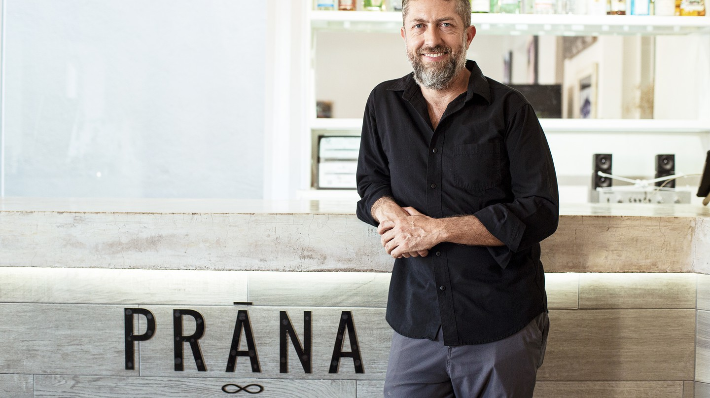 Prãna restaurant owner Christian Liñán-Rivera is on a mission to make fishing sustainable