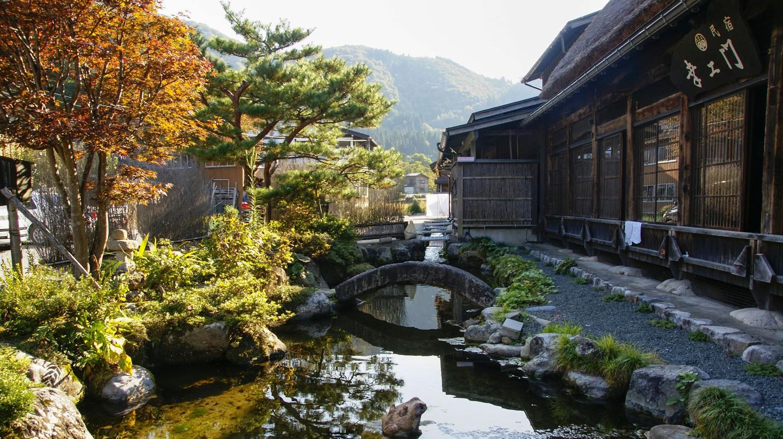 Shirakawago is a tiny, traditional Japanese village nestled in the mountainous Gifu region