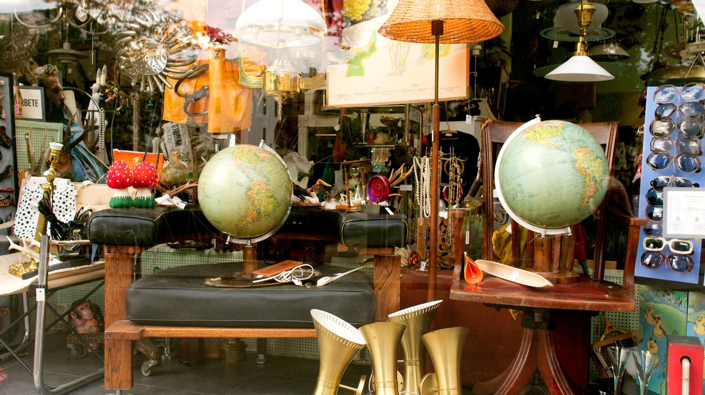 Stockholm's flea markets are home to many a treasure