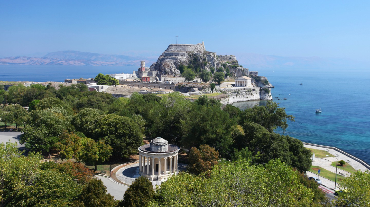 The Greek island of Corfu has a number of architectural and historical treasures to discover.