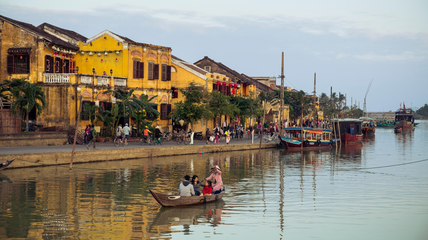 One of the best ways to experience Hoi An is along the river