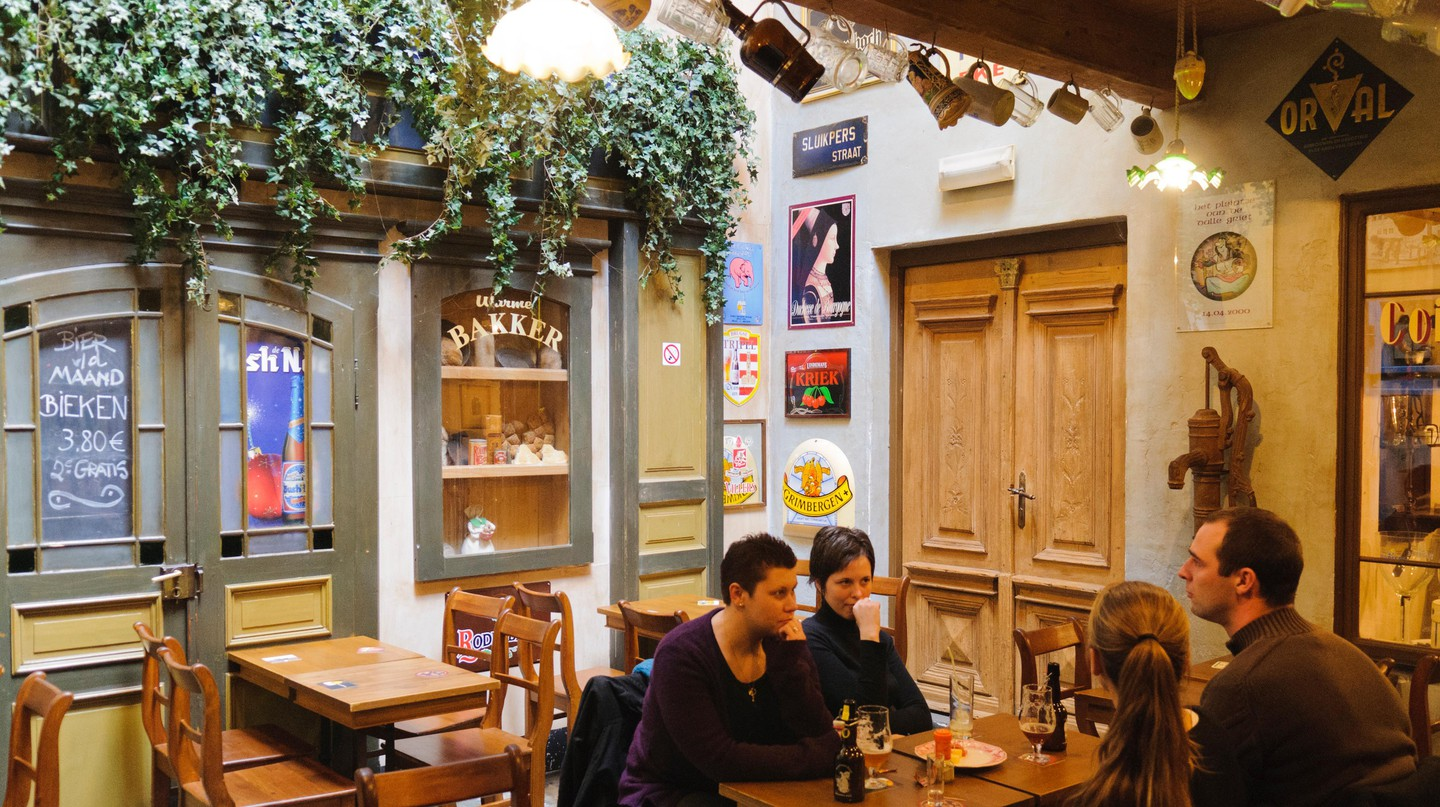 Ghent's nightlife scene is second to none