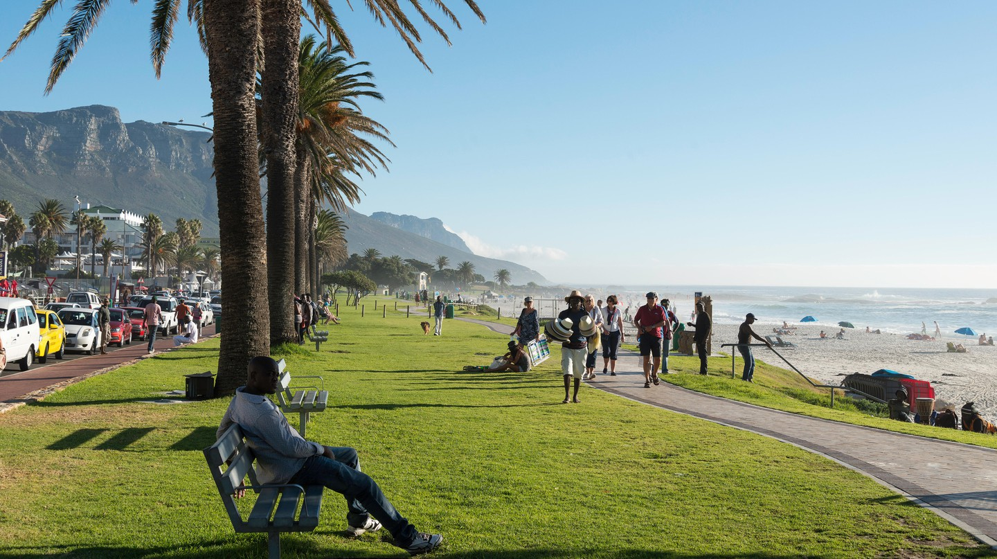 Camps Bay's idyllic location has made it one of the Cape Town's major tourist attractions