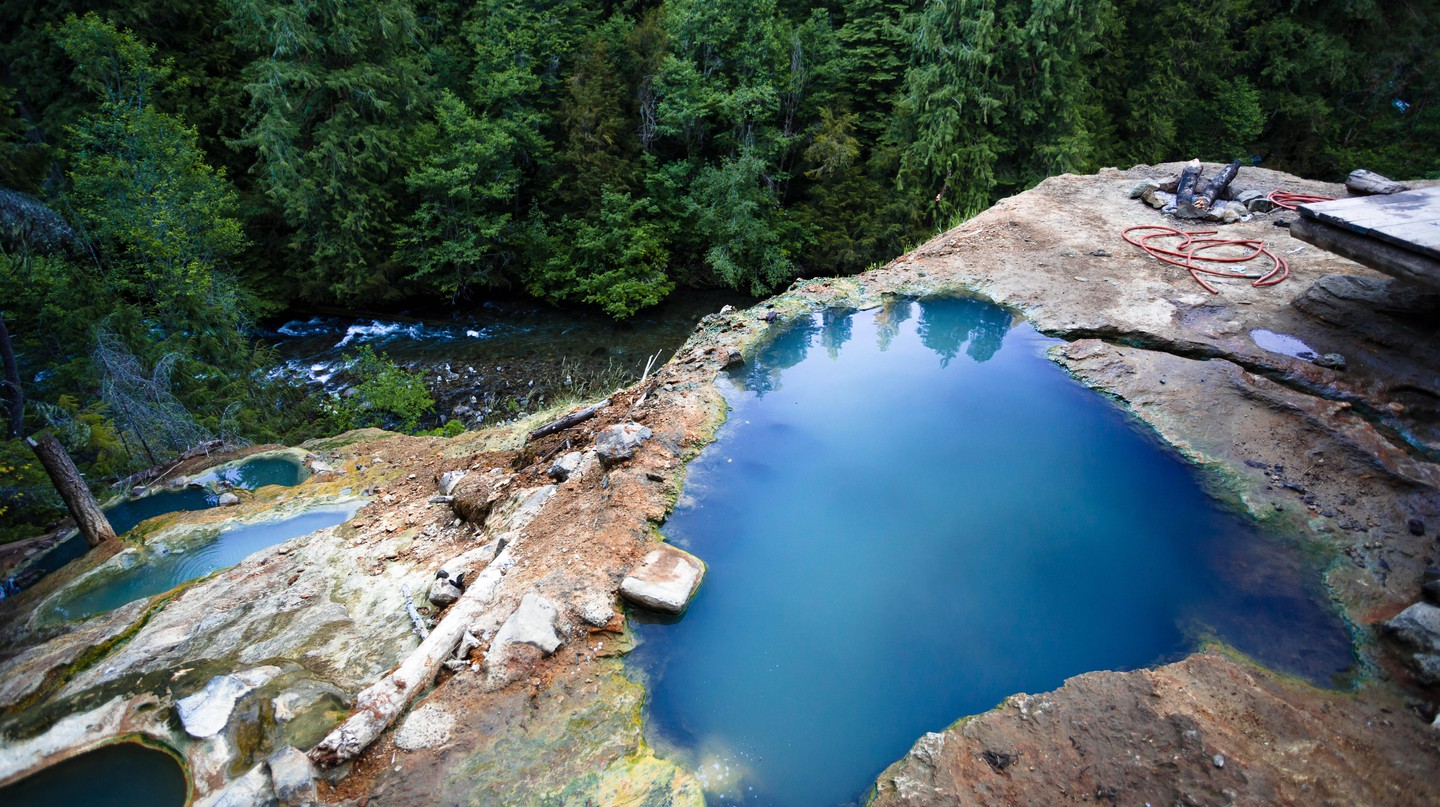 North Umpqua Hot Springs, Oregon