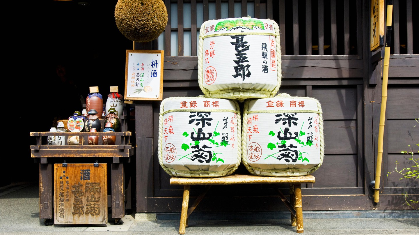 Many of Kobe's sake breweries were destroyed in the 1995 earthquake, and have been rebuilt stronger – and better – than ever