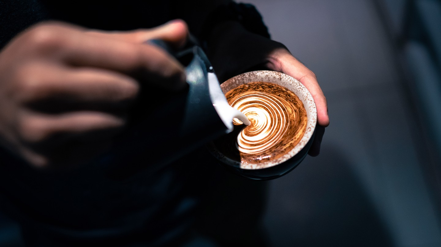 Coffee is rising in popularity in Karachi