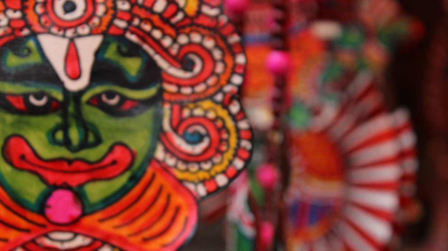 Dilli Haat is famous for cultural festivities, Indian crafts and authentic cuisine