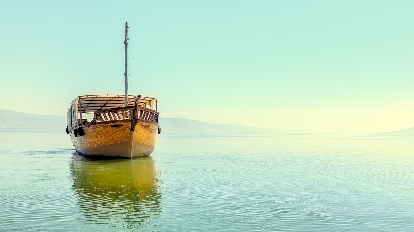 Enjoy the Sea of Galilee on a day trip from Tel Aviv
