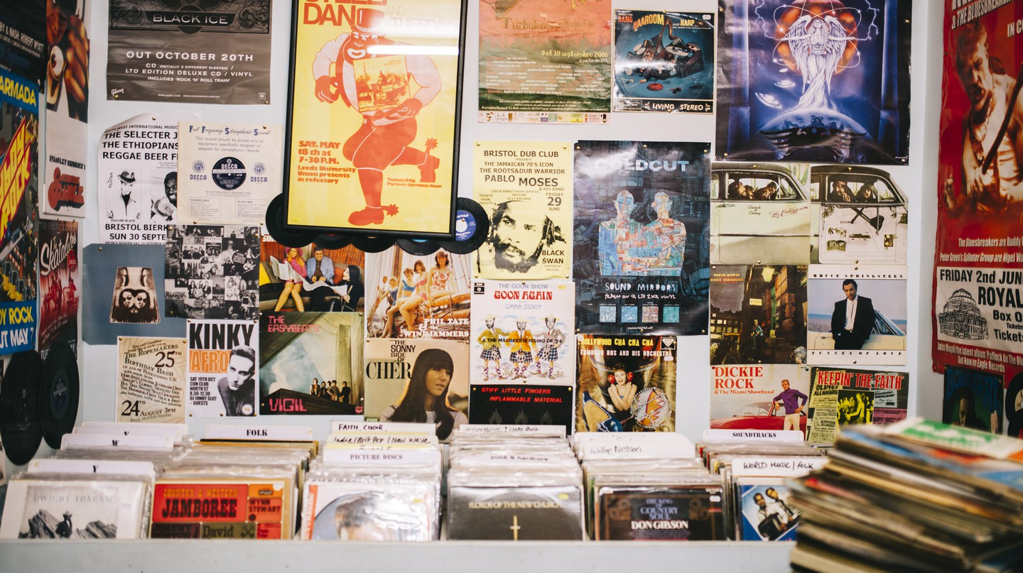 The record shops in Hanoi are often hard to find