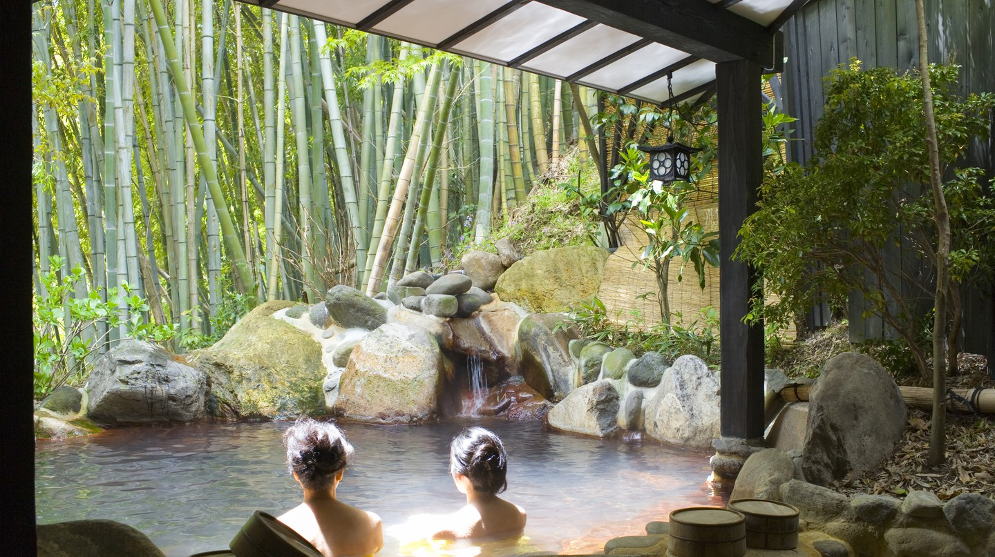 Soaking in an onsen is a must-do activity in Hakone