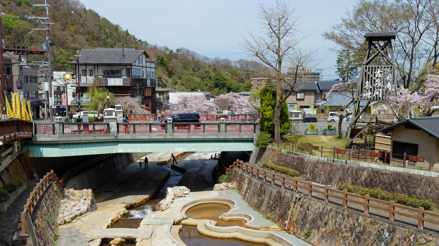 Arima Onsen is Japan's oldest hot spring resort