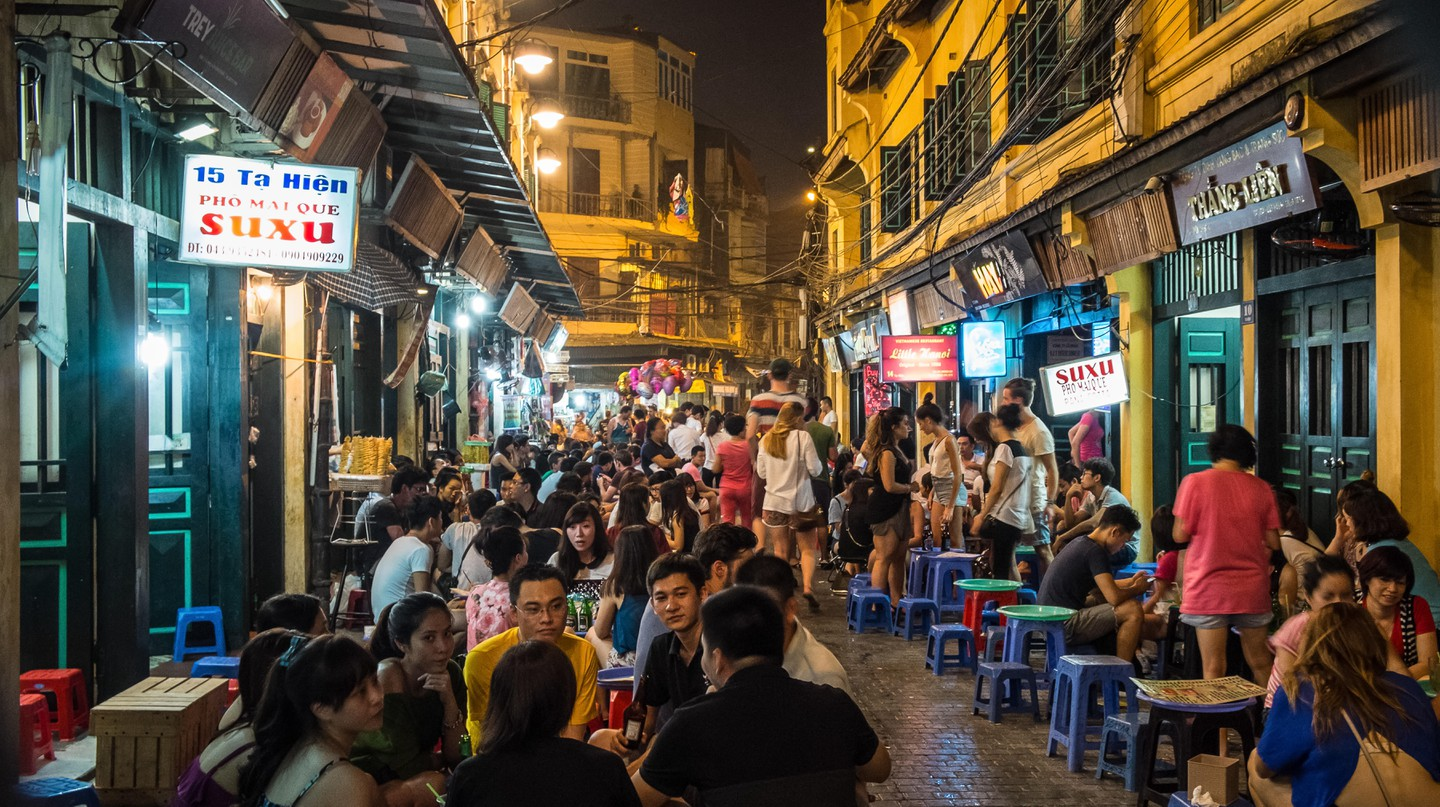 Hoi An's streets fizz with activity