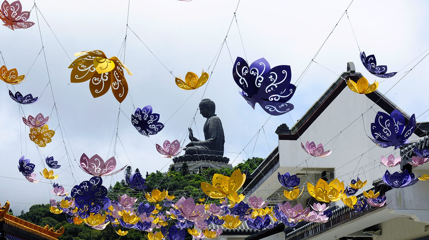 Visit the Big Buddha on a day trip from Hong Kong