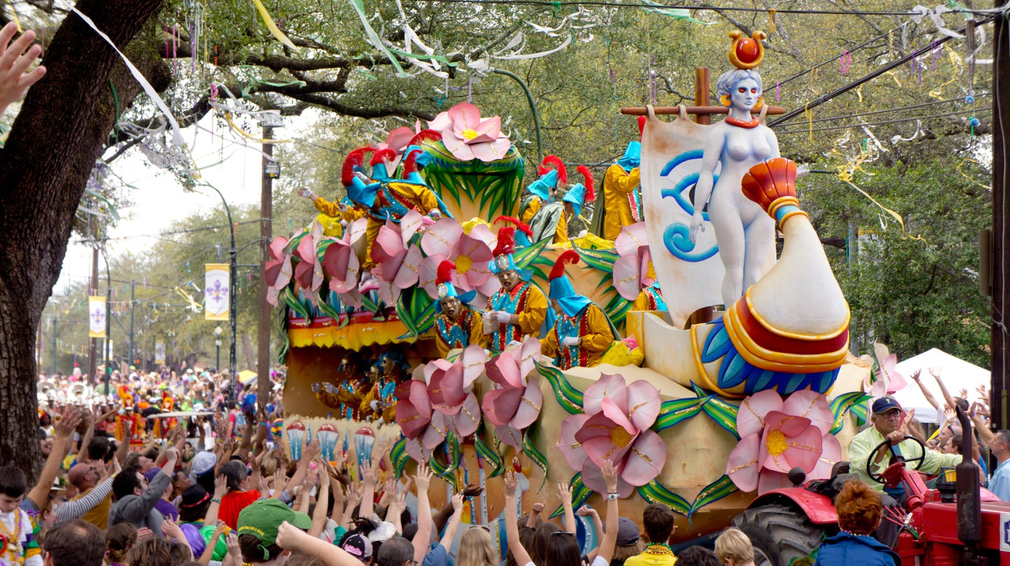 Celebrations take place across New Orleans during Mardi Gras
