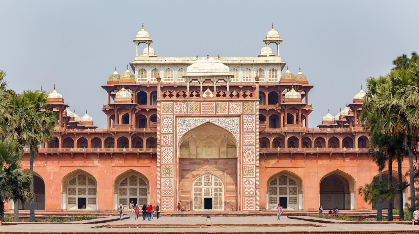 Visit Akbar's Tomb in Sikandra, on the outskirts of Agra