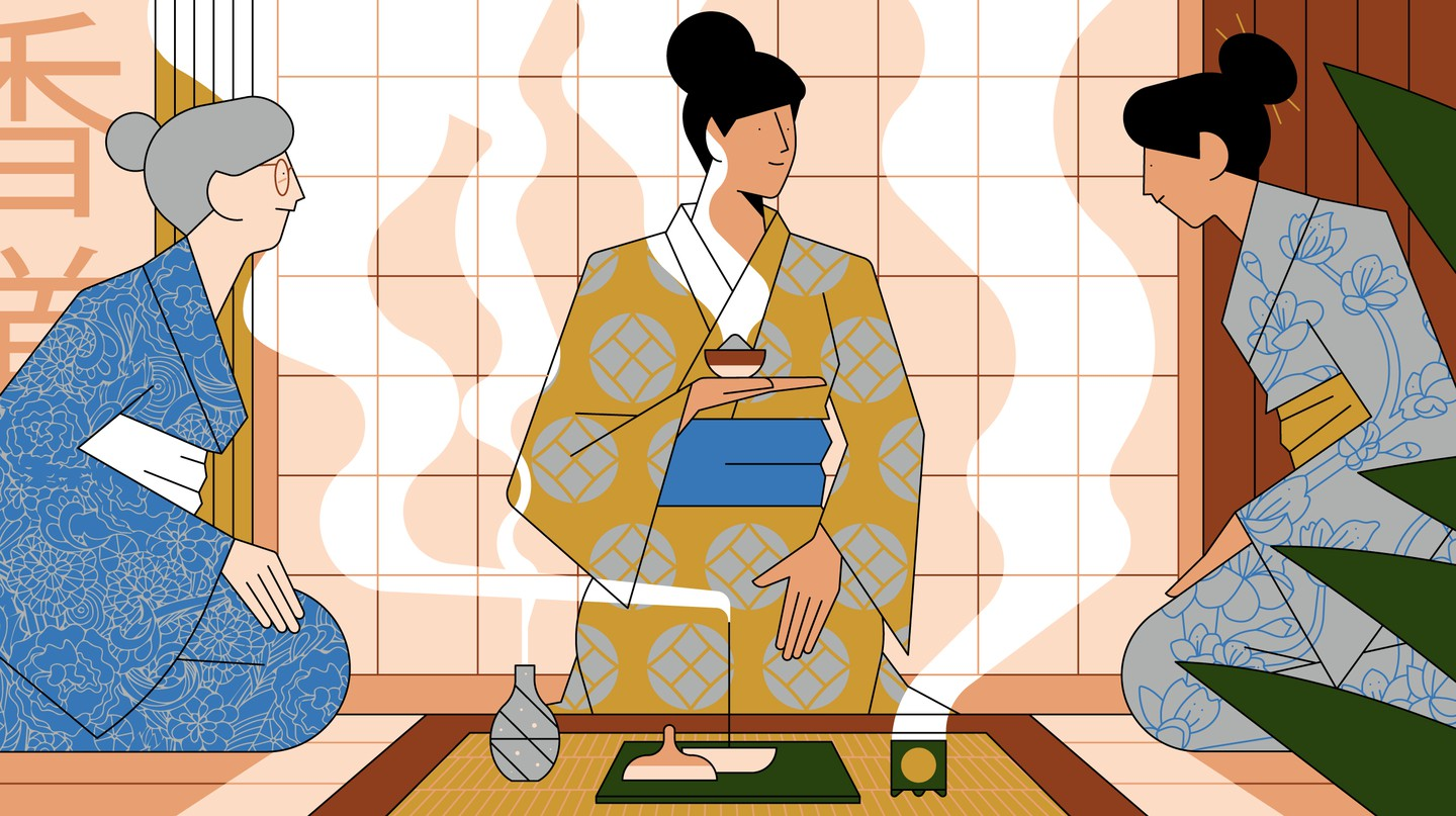 Incense listening has been practised in Japan for centuries