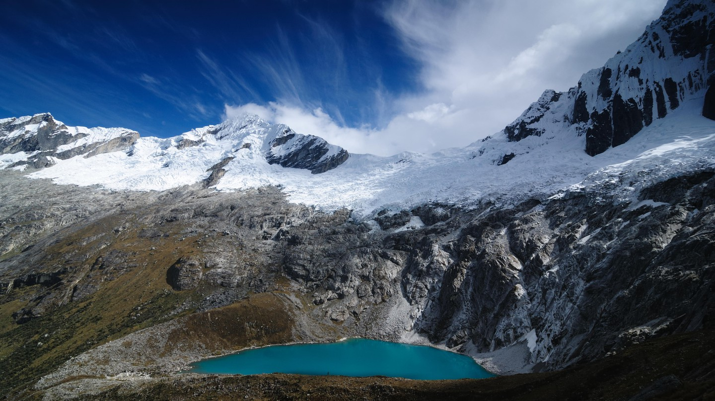 Peru is home to some of the world's most stunning glacial lakes