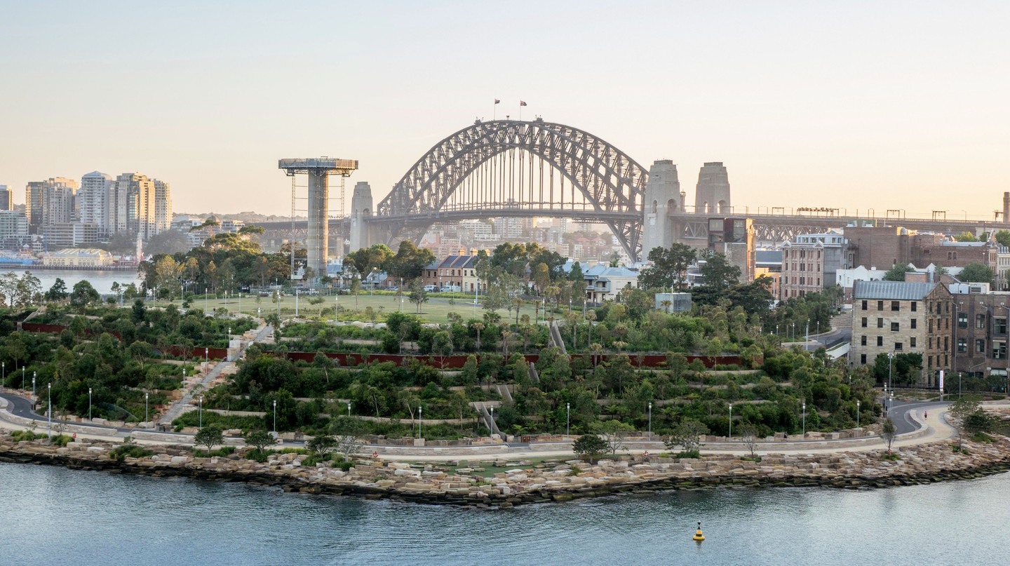 Switch off and enjoy the view from Sydney's green spaces