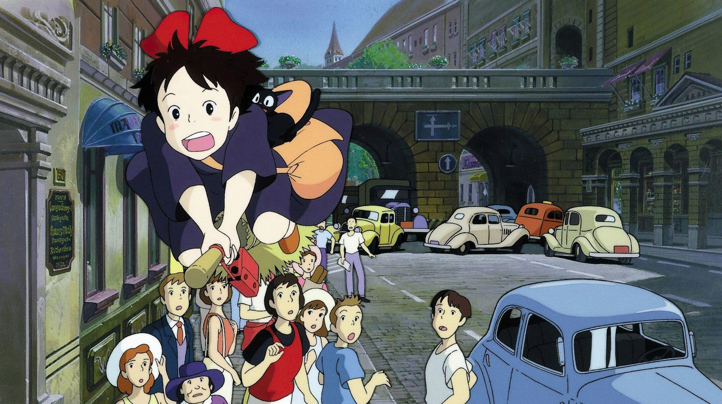 The gold standard for translation is the revered Studio Ghibli