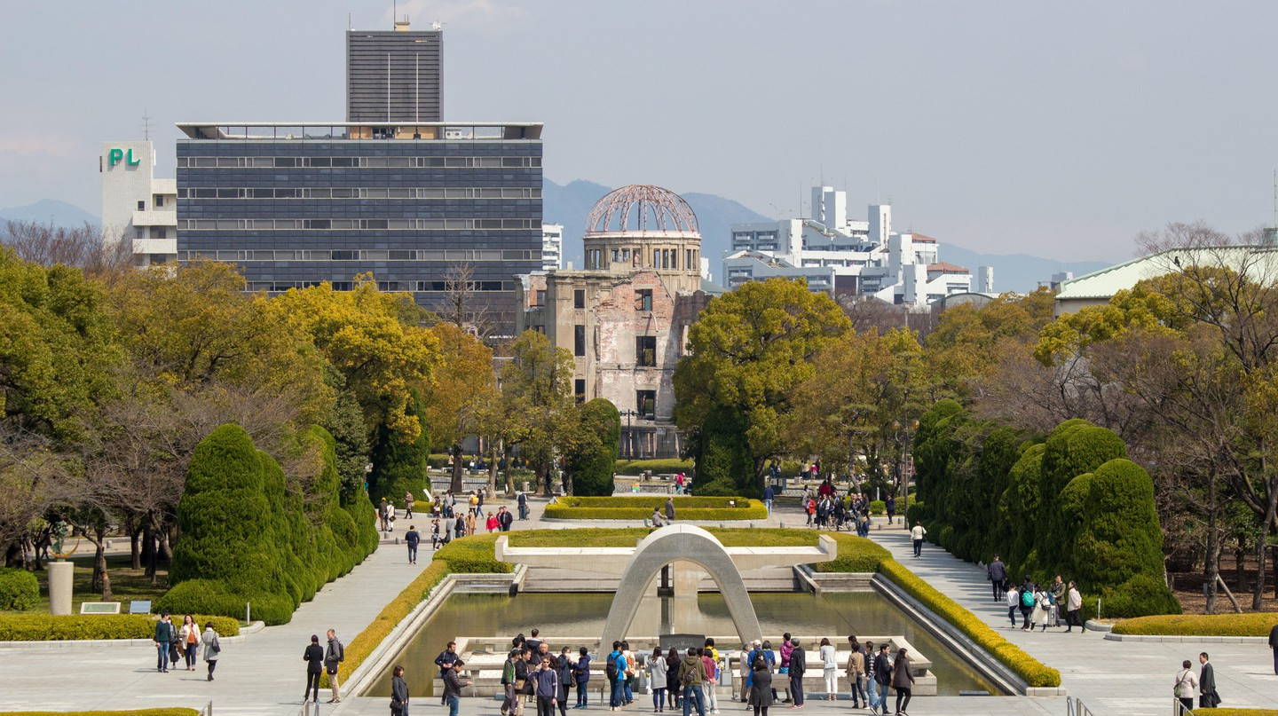 Today, Hiroshima focuses on promoting world peace