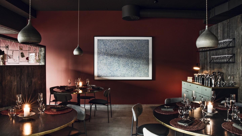 Gunnar Karl Gíslason's Dill restaurant in Reykjavík holds Iceland's only Michelin star