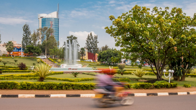 Kigali, Rwanda is a city of art