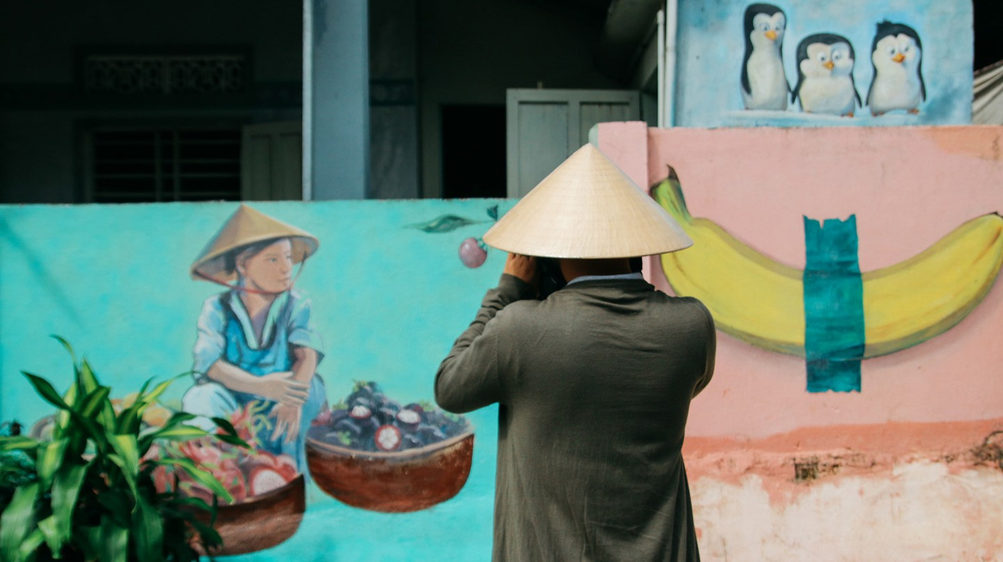 Tam Thanh Mural Village is one of the hidden highlights of Hoi An