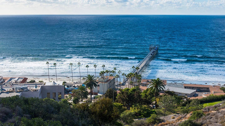 Take in sweeping ocean views in San Diego