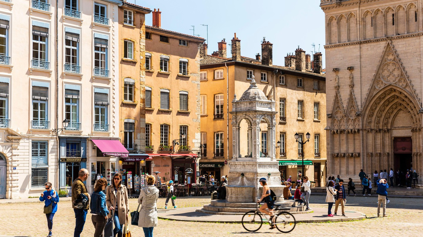 In addition to its incredible dining scene, Lyon is also home to many vintage and antique shops