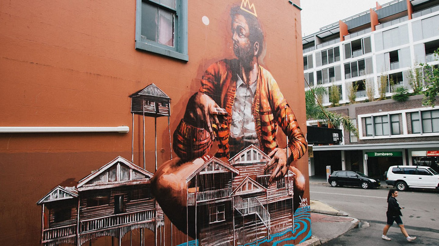 'Yam Fam' by Fintan Magee