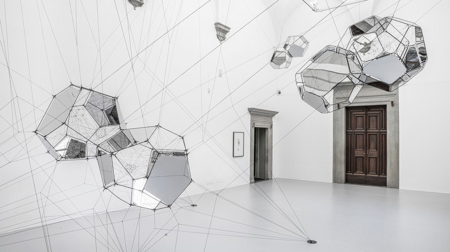 Connectome (2020), by Argentinian artist Tomás Saraceno; courtesy of the artist |