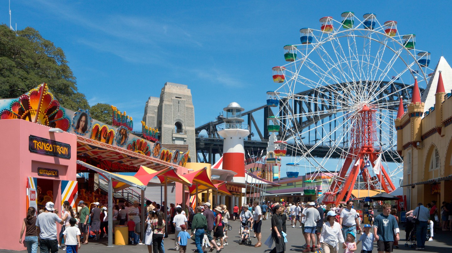 Enjoy Sydney's favourite amusement park, Luna Park, with a full-day admission ticket |