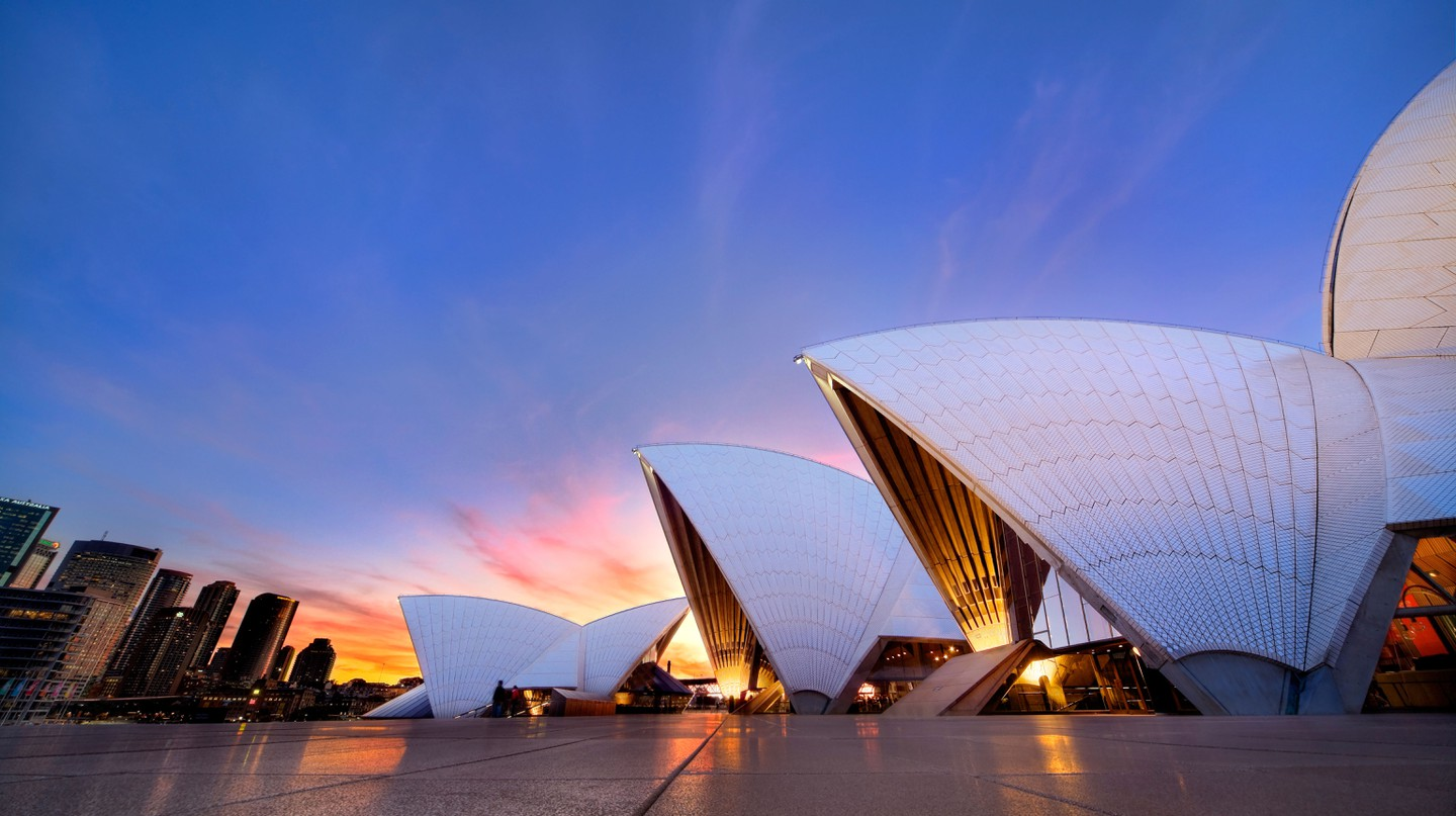 The interiors of the Sydney Opera House are getting a facelift in the run-up to its 50th anniversary