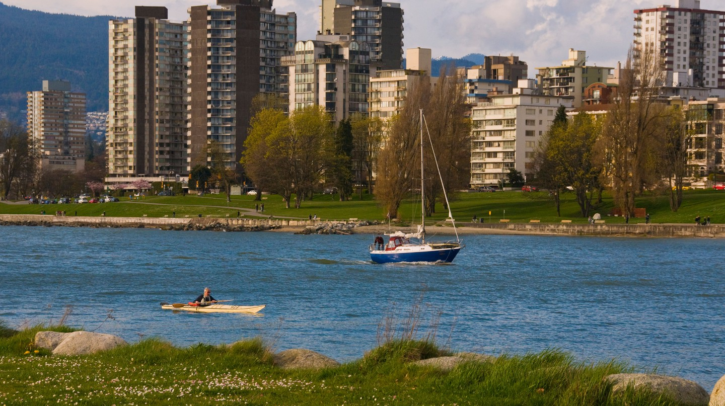 View of Vancouver from Vanier Park