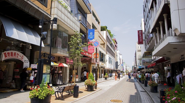 Motomachi shopping district, Yokohama City, Japan.