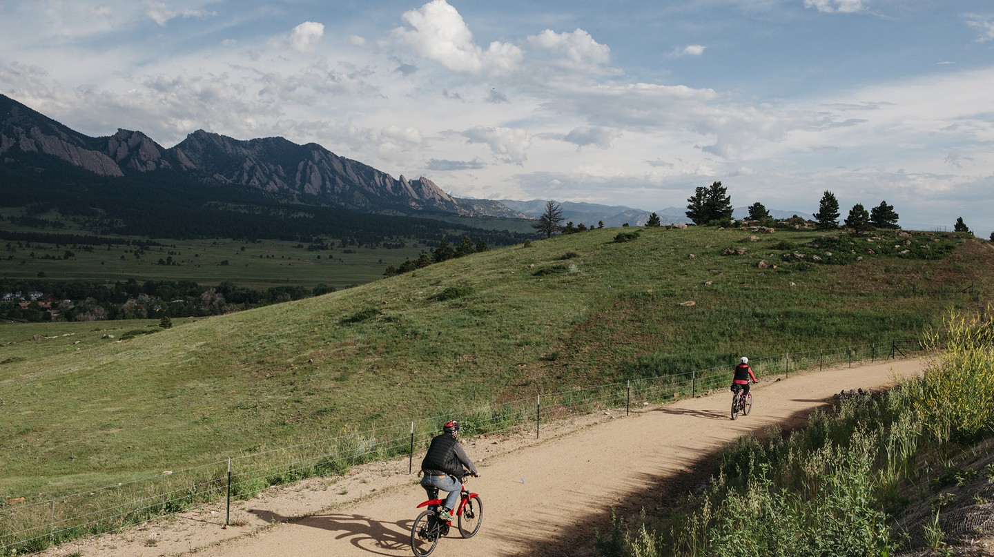 Boulder is home to more than 300 miles (483 kilometers) of bikeway