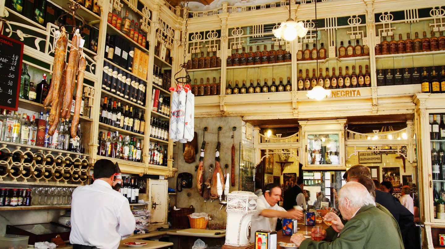 The famous El Rinconcillo in Seville is said to be the oldest tapas bar in the city