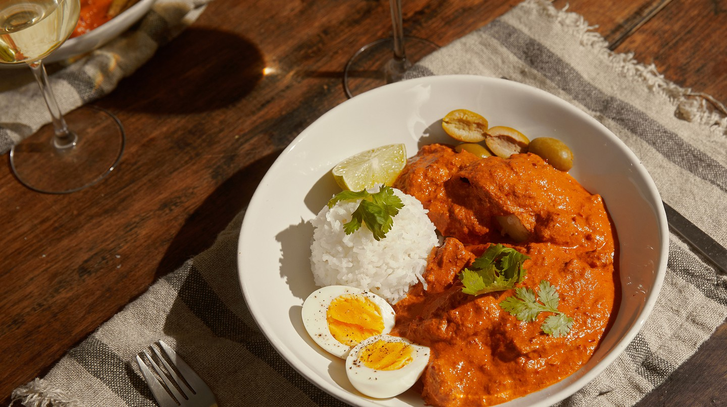 Make Peru's traditional ají de gallina from the comfort of your home