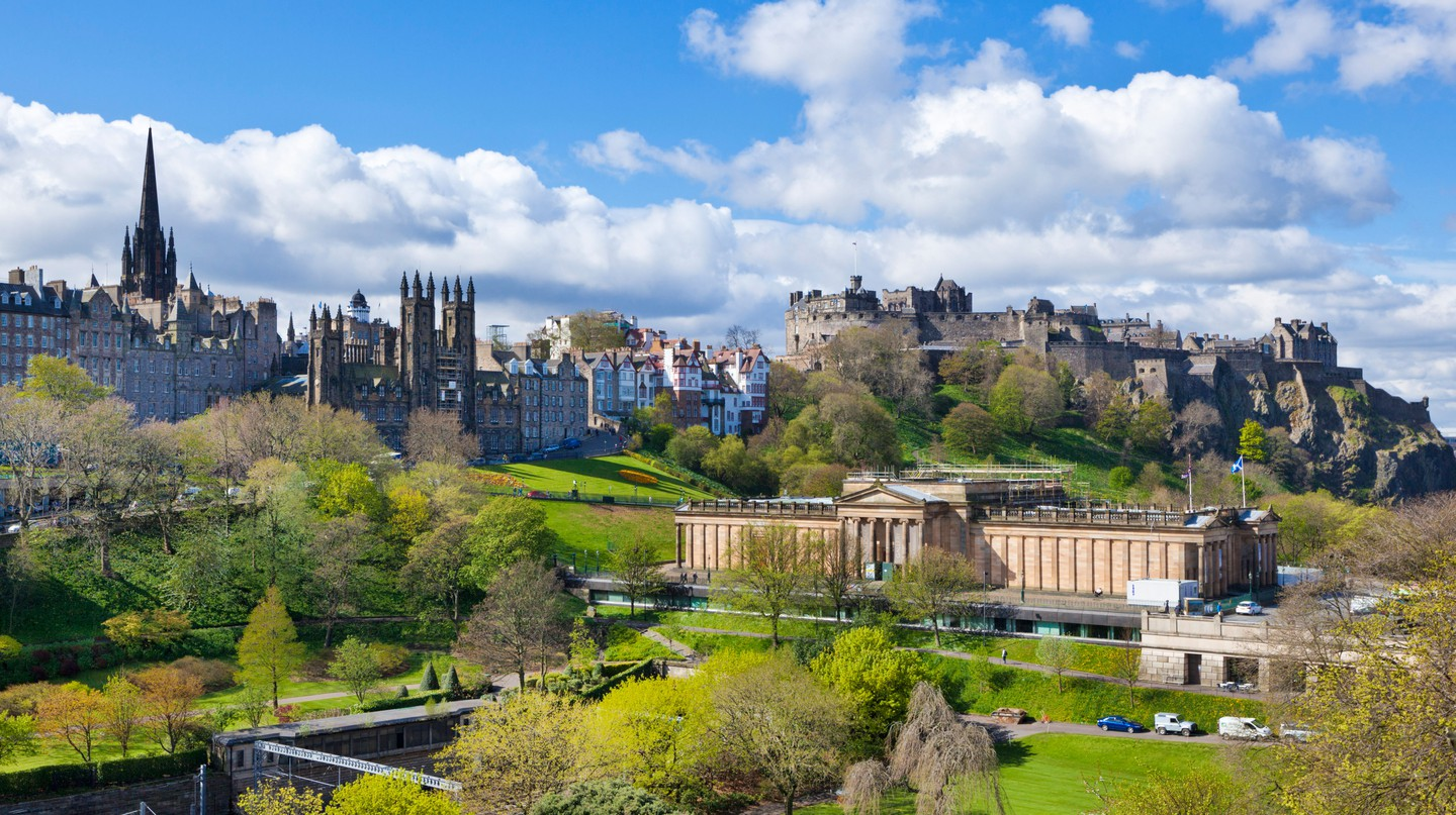 There's plenty to do in the lively city of Edinburgh