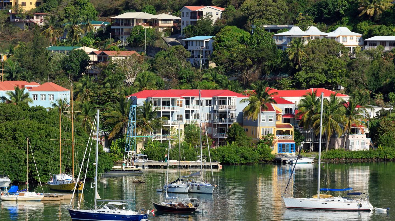 Enjoy a wide variety of cuisine in Road Town, British Virgin Islands
