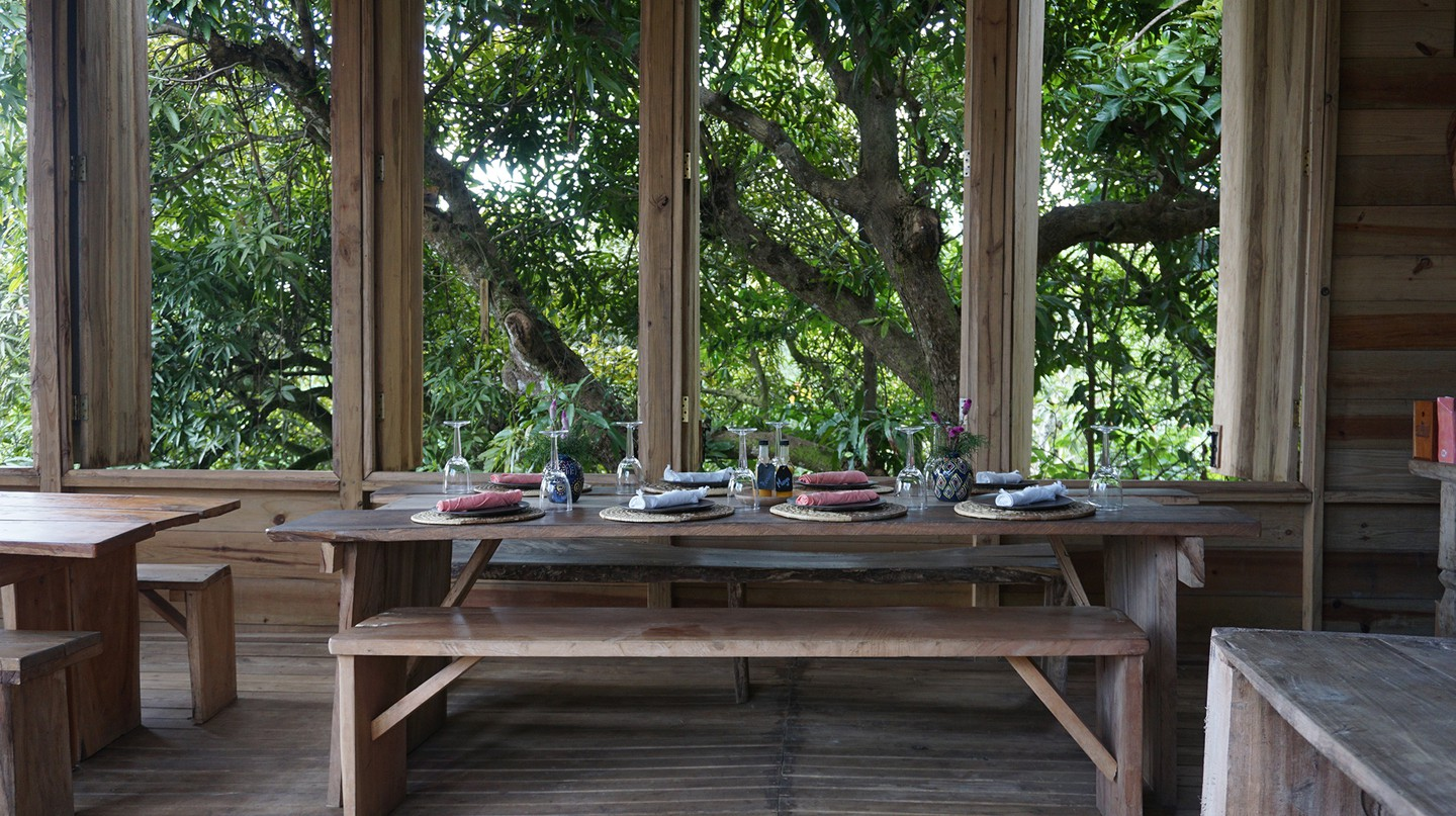 Stush in the Bush offers an authentic farm-to-table, plant-based experience