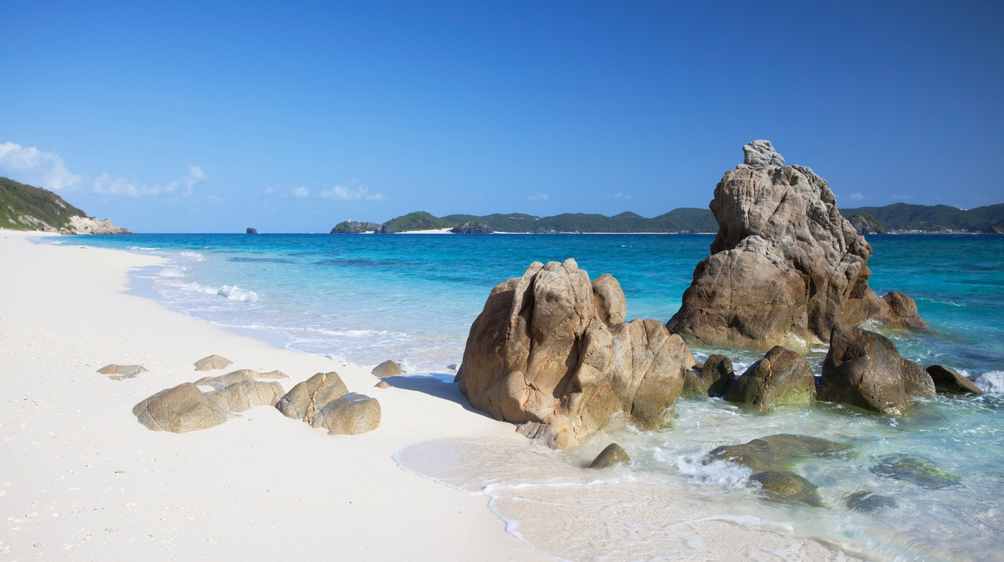 Okinawa is home to a number of breathtaking locations such as Nishibama Beach in the Kerama Islands