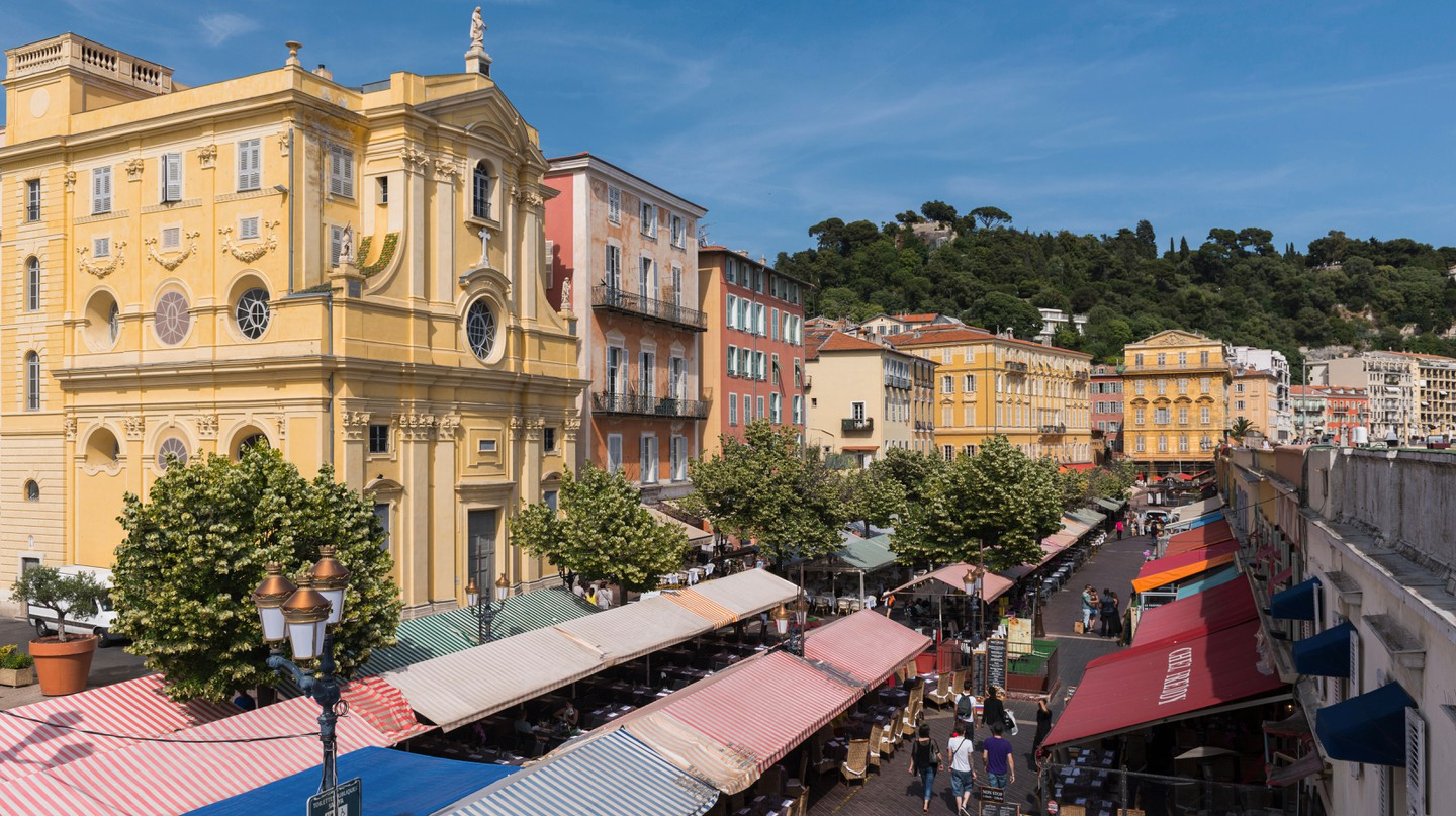 Enjoy the architecture, markets and cuisine of the Old Town in Nice on the Riviera