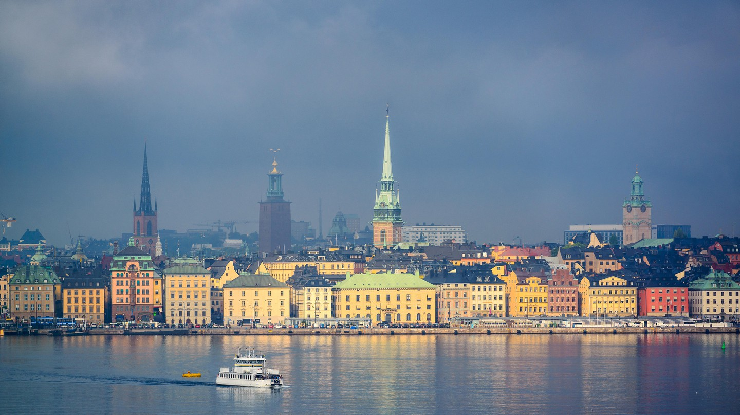 Stockholm is relatively compact for a capital city