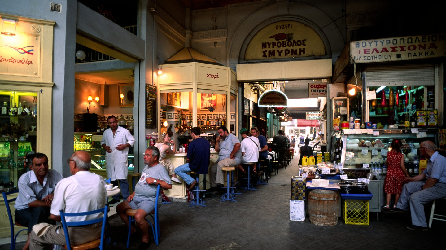 Some of Thessaloniki's food and drink treasures can be found within the city's covered arcades